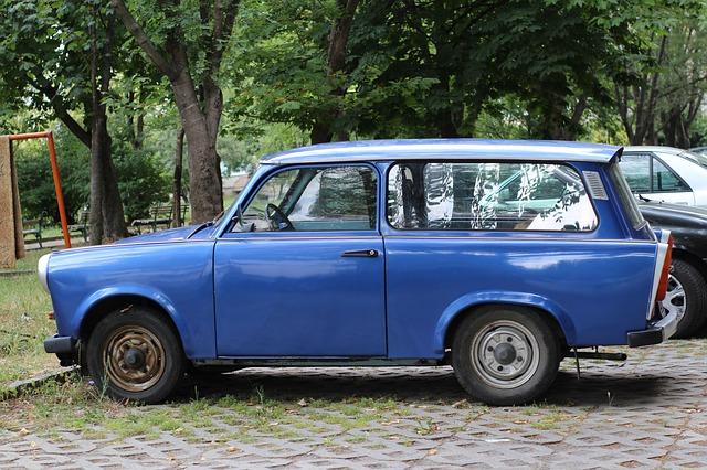 modrý trabant