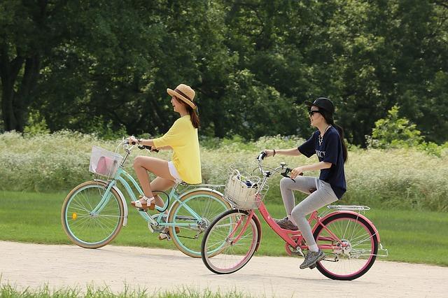ženy na kole
