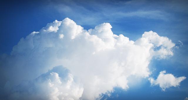 bílá oblaka
