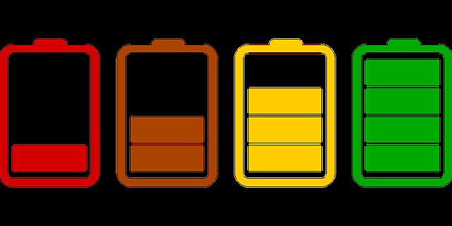 ukazatelé hodnoty baterie